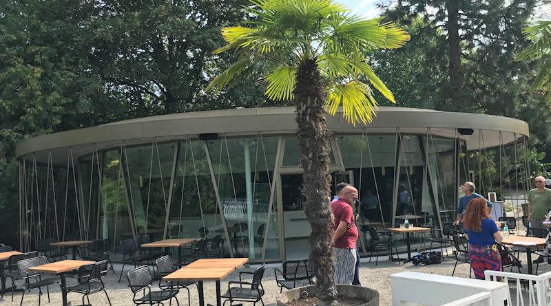 Eröffnung des neuen Besucherpavillons auf der Insel Siebenbergen