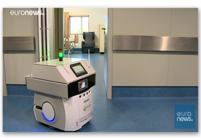 Blitzsauber und keimfrei – Portugal testet Desinfektionsroboter im Krankenhaus
